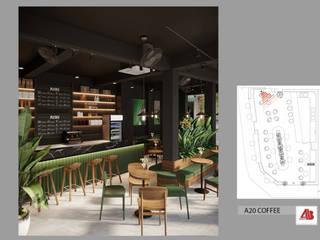 Thiết Kế Nội Thất Quán Cafe A20 Coffee Thiết Kế Nội Thất - ARTBOX