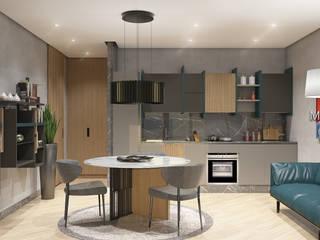 Mezzettidesign Modern living room Wood Wood effect