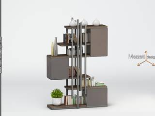 Mezzettidesign Living roomShelves Wood Grey