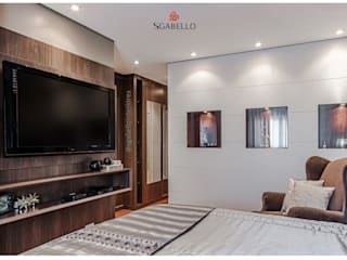 Sgabello Interiores BedroomWardrobes & closets MDF Wood effect