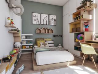 Dormitorio Infatil rzoarquitecto Cuartos pequeños