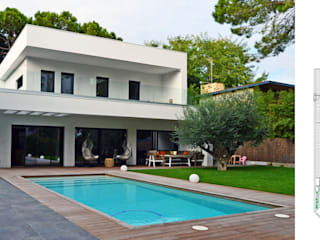jjdelgado arquitectura Rumah Minimalis