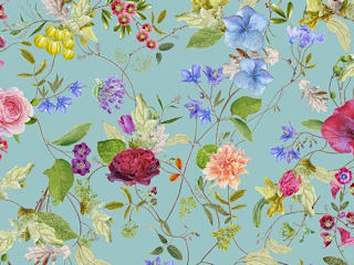 The 'Botanical Carolyn Jenkins' wallpaper collection, bringing botanical back: tropical  by Mineheart, Tropical