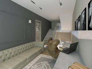 現代風玄關、走廊與階梯 根據 50GR Mimarlık 現代風