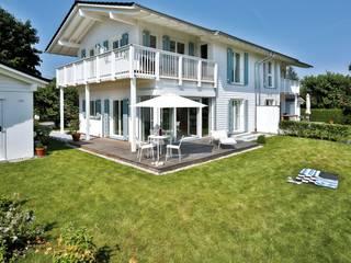 Vitalhaus Breitbrunn Regnauer Hausbau Fertighaus Holz Weiß