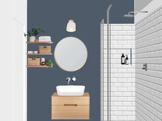 Eclectic style bathroom by Lascia la Scia S.n.c. Eclectic