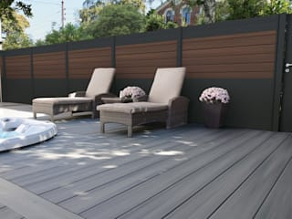 Exclusieve tuinproducten Modern garden Engineered Wood Brown