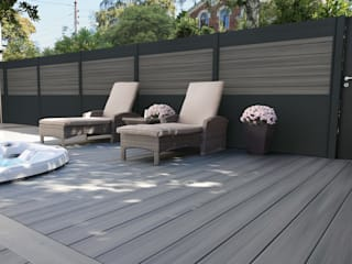 Exclusieve tuinproducten Modern garden Engineered Wood Grey