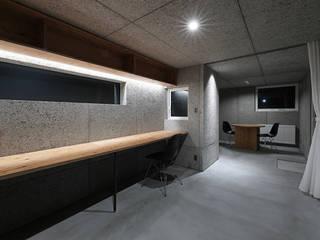 一級建築士事務所 Atelier Casa Modern study/office Grey