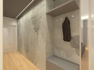 Pasillos, vestíbulos y escaleras de estilo moderno de Bavastrelli&Galimberti Design Studio Moderno