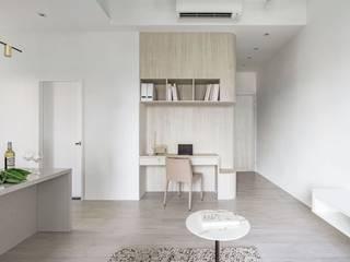 與貓的快意共棲 文儀室內裝修設計有限公司 書房/辦公室