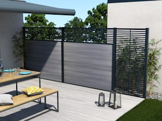Exclusieve tuinproducten Garden Fencing & walls Engineered Wood Grey