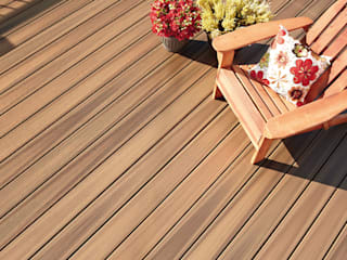 Exclusieve tuinproducten Classic style balcony, veranda & terrace Engineered Wood Brown