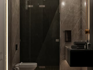 WALL INTERIOR DESIGN Bagno moderno