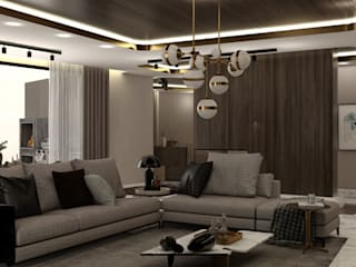 WALL INTERIOR DESIGN Salon moderne
