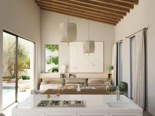 Renovación de casa Loft, Palma de Mallorca. ponyANDcucoBYgigi Salones de estilo moderno