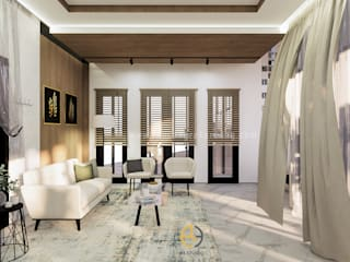 Rancang Reka Ruang Living roomAccessories & decoration Brown