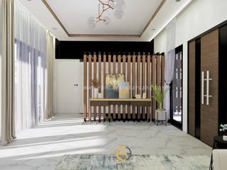 Rancang Reka Ruang Living roomShelves Grey