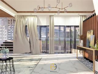Rancang Reka Ruang Living roomAccessories & decoration Grey