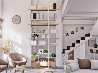 Rancang Reka Ruang HouseholdStorage White