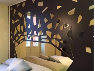 ESEMPI DI RISTRUTTURAZIONE SARTORIALE CC-ARK - SERENA&VALERIA Camera da letto moderna