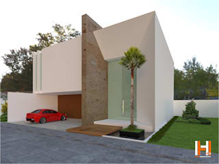 HHRG ARQUITECTOS Modern home