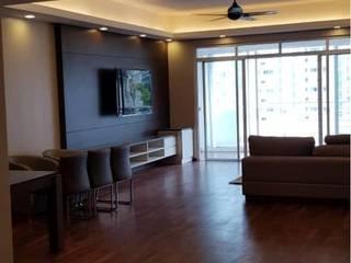 Dezeno Sdn Bhd Living room Brown