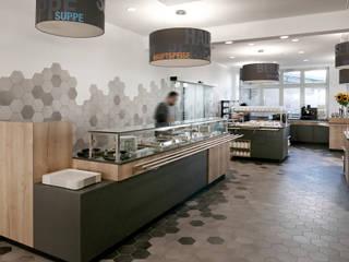 Mitarbeiterrestaurant DVGW Scholz & Ko InnenArchitekten Moderne Gastronomie