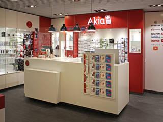 Akia Scholz & Ko InnenArchitekten Moderne Ladenflächen