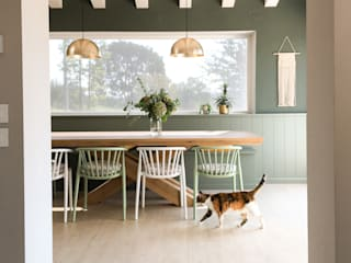 Camilla's sage green house Ston srl KitchenAccessories & textiles Kaca Green