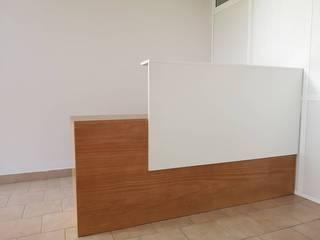 Balcões Mário Costa mobiliário Escritório e loja Madeira Acabamento em madeira