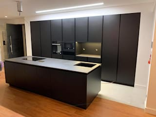 ADN Furniture KitchenCabinets & shelves MDF Black