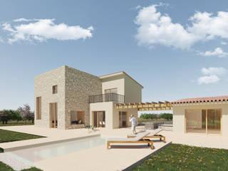 CA'N BUCO CM ARQUITECTURA Casas de estilo moderno