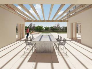 CA'N BUCO CM ARQUITECTURA Balcones y terrazas de estilo moderno