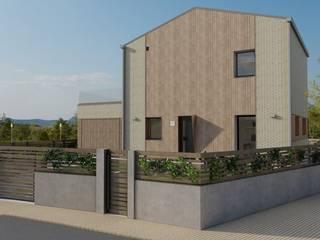 Vivienda unifamiliar en Elcano (Navarra) - LumaHaus - Passivhaus Plus GA Arkitectura │arquitectura & passivhaus │ Casas unifamilares Madera