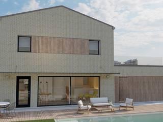 Vivienda unifamiliar en Elcano (Navarra) - LumaHaus - Passivhaus Plus GA Arkitectura │arquitectura & passivhaus │ Casas unifamilares Madera Acabado en madera