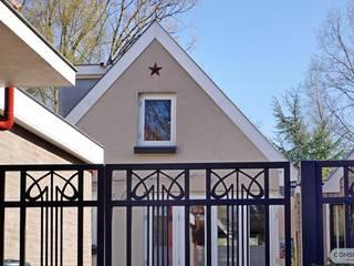 Consepto Hekwerk Jardines en la fachada Hierro/Acero Negro