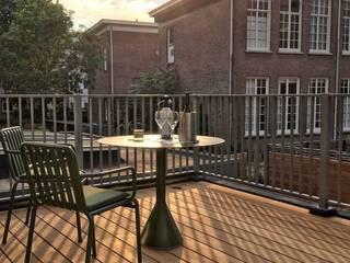 Consepto Hekwerk балконы Железо / Сталь Белый