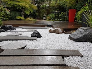 JARDIN JAPONAIS 禪風庭院 花崗岩