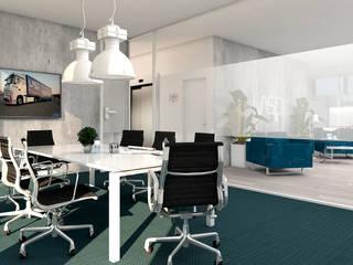4Ponto7 Modern style study/office Metal Blue