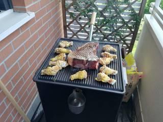 COSTRUZIONI MECCANICHE PATERNO SRL Garden Fire pits & barbecues Black