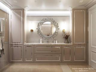 Дизайн ванной комнаты Студия дизайна Натали Ванная в классическом стиле