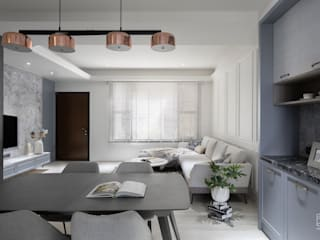 禾廊室內設計 Phòng ăn phong cách kinh điển