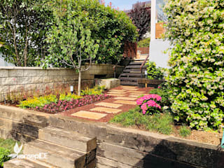 Modern Garden by konseptDE Peyzaj Fidancılık Tic. Ltd. Şti. Modern