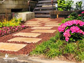 SAKURA PARK B.D Özel konut konseptDE Peyzaj Fidancılık Tic. Ltd. Şti. Modern Bahçe