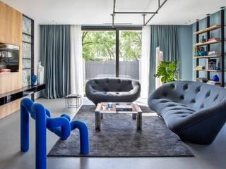 TAKE TIME Flussocreativo Design Studio Soggiorno moderno