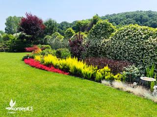 V.ARMAY VİLLA BAHÇESİ Peyzaj Proje-Uygulama-Bakım konseptDE Peyzaj Fidancılık Tic. Ltd. Şti. Klasik Bahçe