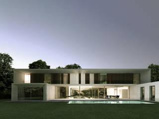 Maisons et villas modernes par les architectes d'a2-Sb Maisons modernes par ARRIVETZ & BELLE Moderne
