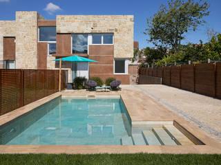 ROSA GRES Garden Pool Ceramic Beige