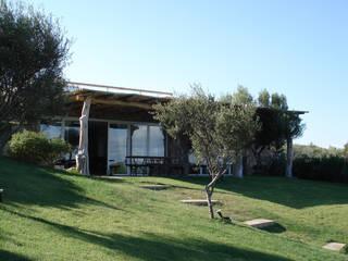Villa con vista Eikon Giardino anteriore Pietra Bianco